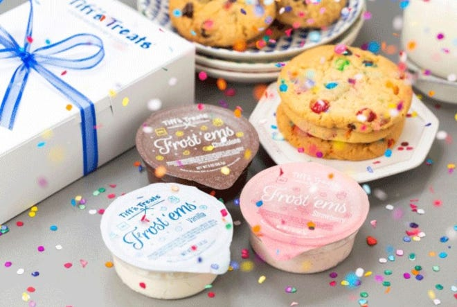Tiff's Treats has added frosting cups to its cookie delivery line-up.