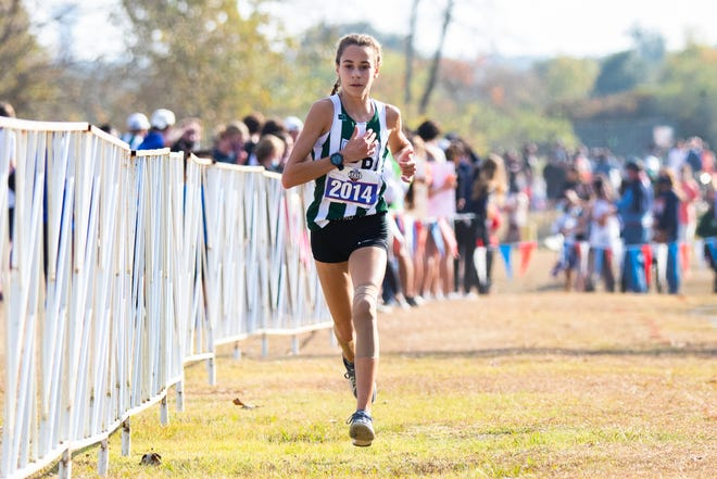 Cedar Park freshman Isabel Conde De Frankenberg blistered the field in the Class 5A girls race at the state cross-country meet in November, winning by 19 seconds.