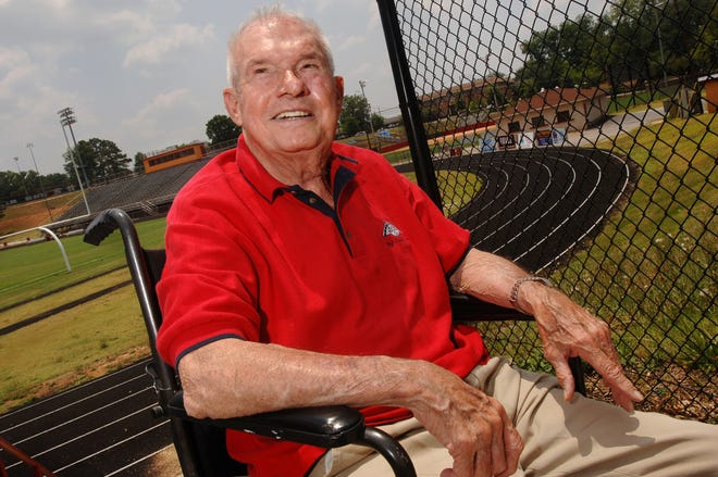 Legendary Clarke Central coach Billy Henderson poses for a photo. (File/Athens Banner-Herald)