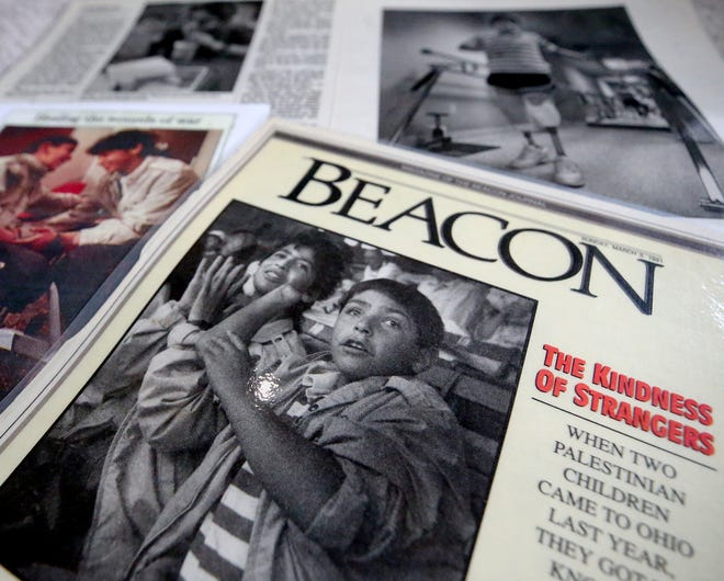 After 30 years, Steve Sosebee still has clippings of Mansour's story from a 1991 copy of the Beacon Magazine.