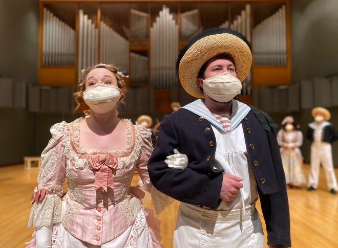 """The West Texas A&M University Opera Workshop will stage W.S. Gilbert and Arthur Sullivan's """"H.M.S. Pinafore"""" at 7:30 p.m. Feb. 5 and 6 and 2:30 p.m. Feb. 7 in the Mary Moody Northen Recital Hall on WT's Canyon campus."""