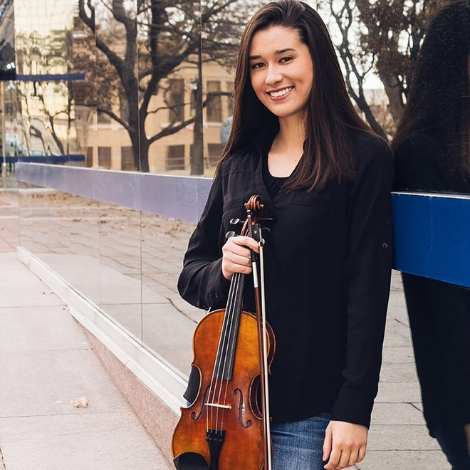 Havuka Lund, an Amarillo native, will compete as a National Finalist in the MTNA Young Artists Competition.
