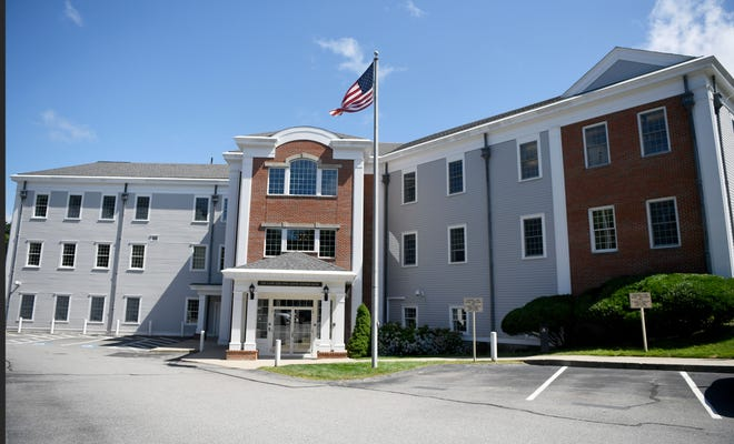If approved, 62 units of affordable housing could be built at the former Cape Cod 5 operations center on West Road in Orleans. [Cape Cod Times file]