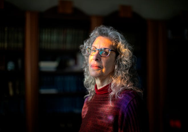 Jan Leibovitz Alloy, photographed at the Lori Schottenstein Chabad Center in New Albany, Friday, January 29, 2021. An online course starting Monday will look at death and dying and how Jewish beliefs on death and grief differ from other religions.