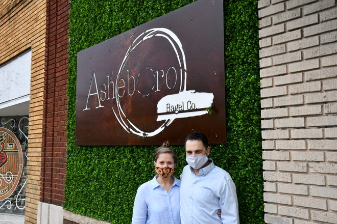 Greg and Sara Holden, the owners of Asheboro Popcorn Co. are starting another business, this time focusing on bagels.