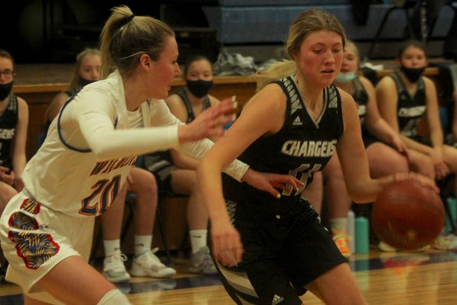 Nelson County defeated Benson County, 47-42, on Jan. 27 at Leeds High School.