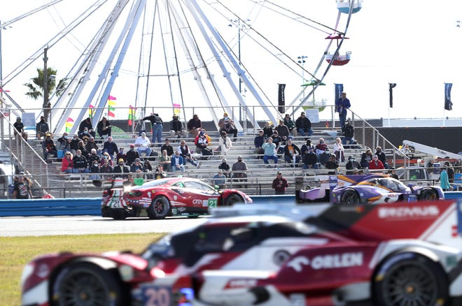 There will be a spinning Ferris wheel and lots of laps turned as the 59th Rolex 24 At Daytona kicks off five weeks of racing at Daytona International Speedway.