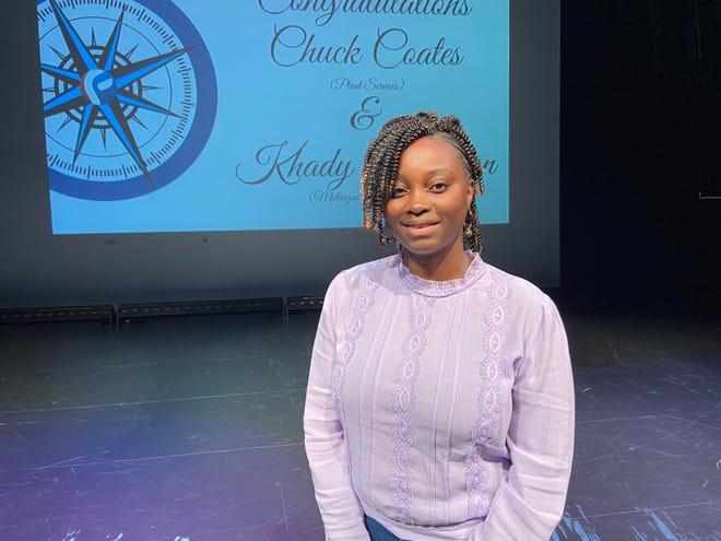 Matanzas High School science teacher Khady Harmon is Flagler County's 2022 Teacher of the Year.