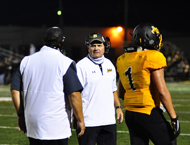 Yellow Jacket head football coach and athletic director Chad Rogers is leaving Denison to take the same position at Tioga.