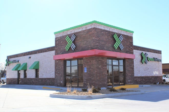 The Xpress Wellness Urgent Care clinic at 1805½ E. 17th Ave. in Hutchinson opened Jan. 27, 2021.
