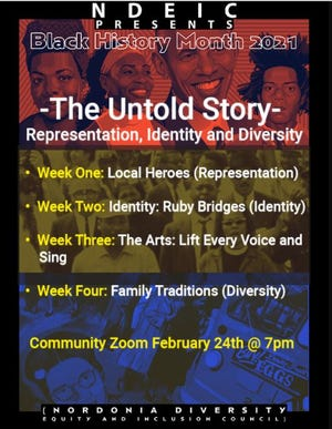 Black History Month at the Nordonia Hills City Schools will be recognized with weekly themes.