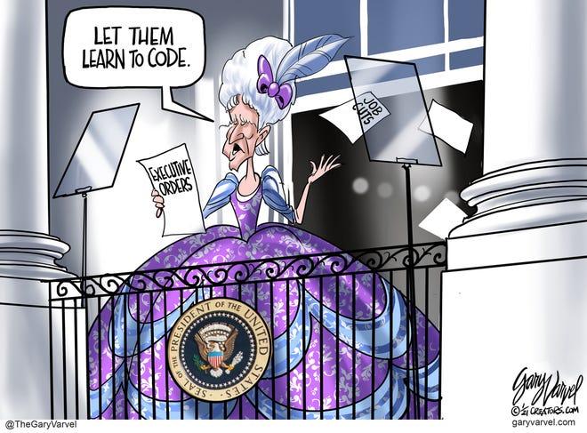 Today's editorial cartoon (Jan. 31, 2021)
