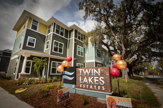 The Housing Trust Group has started leasing apartments at its newest development, Twin Lakes Estates II in Lakeland, which is nearing completion on Lake Beulah.