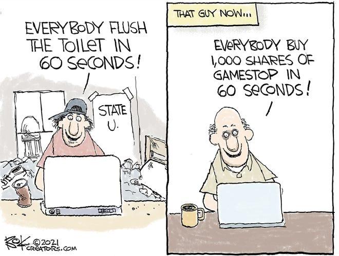 Today's editorial cartoon (Jan. 30, 2021)