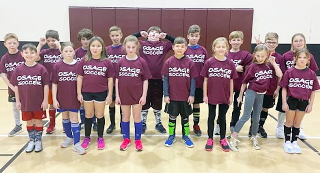 A total of 17 Upper Elementary students participated in the 2021 Winter Youth Soccer Camp on January 28.