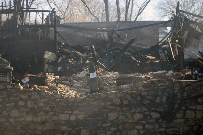A fire that destroyed a building Jan. 21 in Leavenworth is considered to be a case of arson.