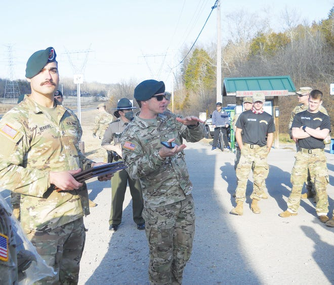 Various participants came to Haw Ridge Park last Friday, Jan. 23, 2021 for the 20th Special Forces Evaluation of the Special Forces Group (Airborne) of the Army National Guard.