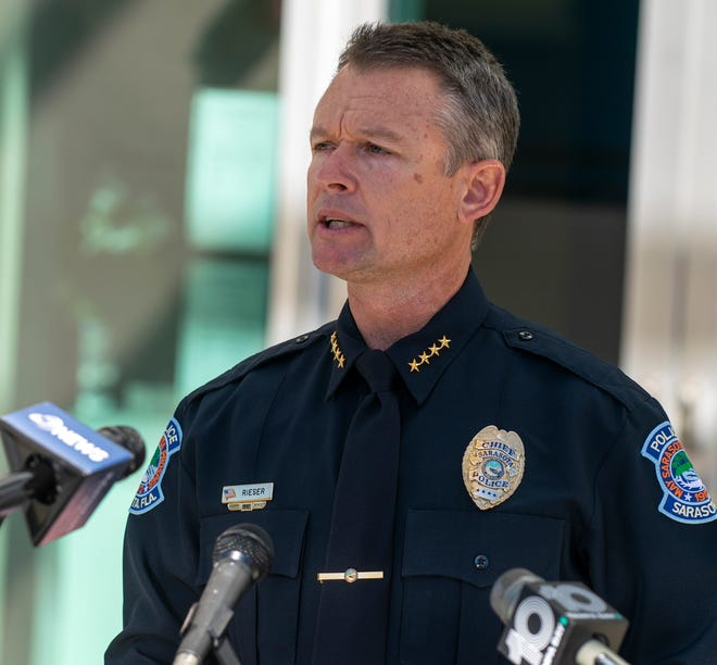 Sarasota Police Chief James Rieser