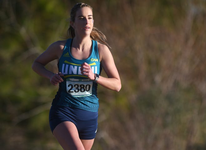 Cameron Smithwick, and her twin sister Haley, are running their senior season for the UNCW cross country this spring.