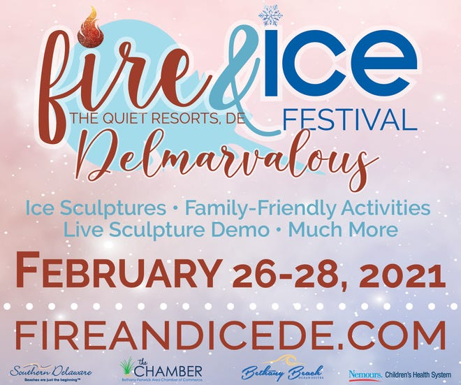 The Bethany-Fenwick Area Chamber of Commerce, with presenting sponsor Bethany Beach Ocean Suites, will celebrate the fourth annual Fire & Ice Festival in February.