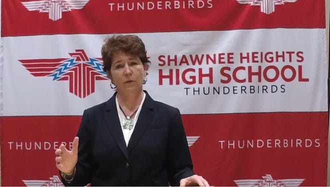 Nickerson-South Hutchinson Unified School District 309 superintendent Dawn Johnson on Thursday was the last of four candidates to interview for the Shawnee Heights USD 450 superintendent job.