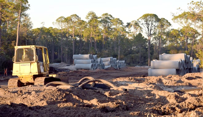 The Panama City Beach Utilities Department has a list of projects for this year, including a $2.7 millionupgrade to reclaimed and wastewater transmission lines along Bay Parkway.