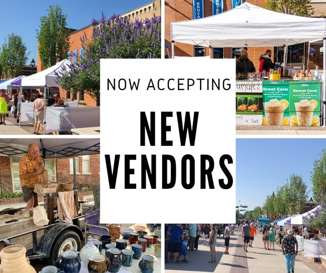 New vendors can apply to join the Bluebonnet Market.