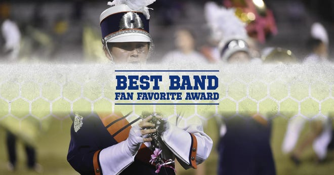 The winner of the Best Band Fan Favorite Award will be revealed during the Northeast WisconsinHigh School Sports Awards and a trophy will be mailed to the winner following the show.