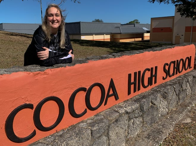 Cocoa High School English teacher Karrie Hieber is the 2021 Brevard Teacher of the Year. Hieber was commended for helping her fellow teachers prepare to conduct distance and hybrid learning  during the COVID-19 pandemic.