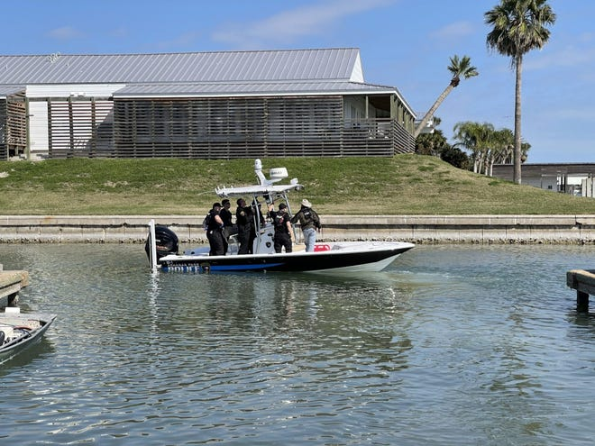 Aransas Pass police are investigation the death of a man found in a body of water Friday morning.