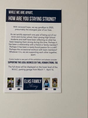 East Lansing High School Family Strong photography campaign located in Foster Coffee Company in East Lansing.