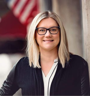 Stephanie Zader, appointed last week, is seeking a full four-year term as councilwoman at-large.