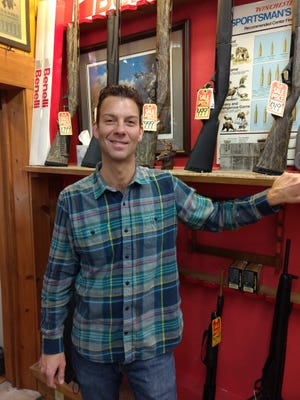 """James Dean is the owner of Norton Sporting Goods in Waldo. He said gun sales """"exploded"""" in 2020, increasing to 84% in comparison to 2019."""