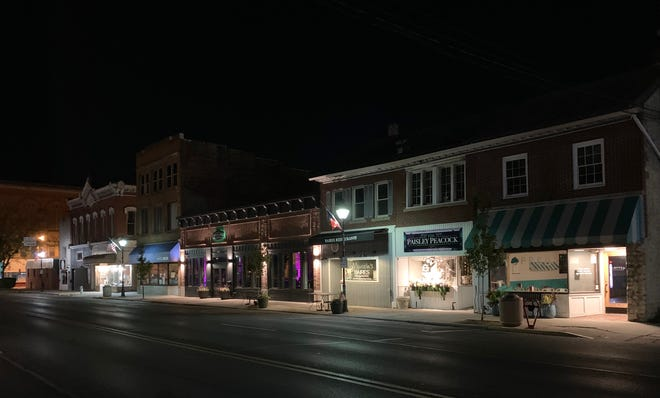 Marion's revitalized downtown area will be one of the many benefits shown in the video for site selectors.