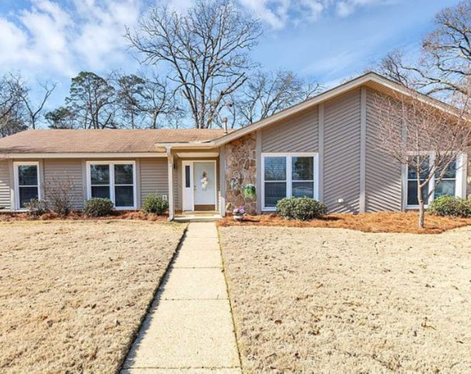 One Fox Hollow home located at 112 Fox Hollow Drive includes four bedrooms and two bathrooms within 2,256 square feet of living space. The home is on the market for $189,900.