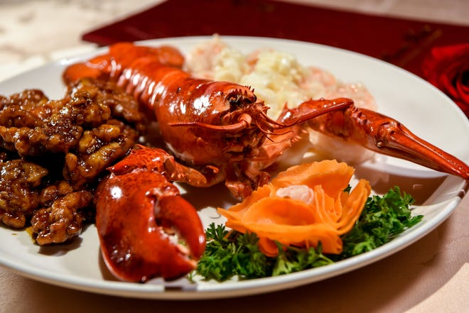 Dragon and Phoenix for Chinese New Year at Hunan Taste in Denville  on Friday January 29, 2021.