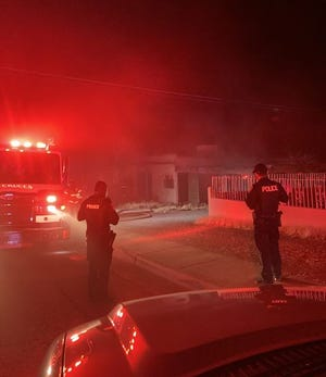 Shortly after 4 a.m. Friday, Jan. 29, firefighters were dispatched to the report of a residential structure fire on the 1000 block of Colorado Avenue.