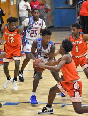 Pine Forest freshman Jonterius McCormick (#25) died Thursday morning. The cause of death has yet to be determined according to Pine Forest administration.