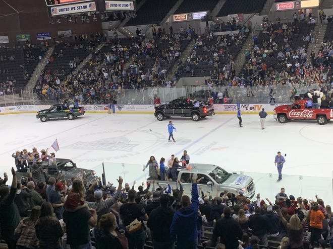 The Ice Flyers first home games in two weeks will include back-to-back, light-hearted themes this weekend related to the current times in Pensacola.