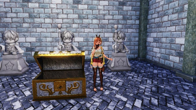 Solving Atelier Ryza 2's Fairy Statue puzzle will net you the Beautiful Picture Frame for your Atelier.