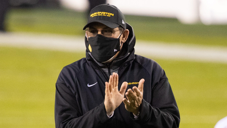 Washington Football Team trainer Ron Rivera announces he's cancer-free thumbnail