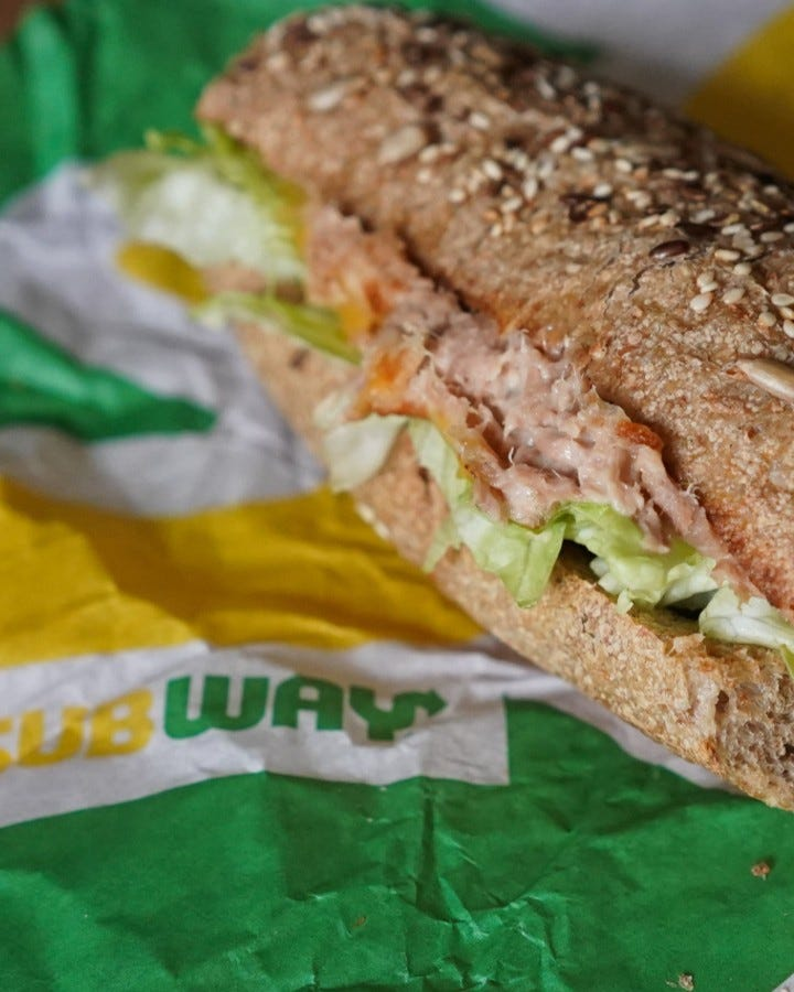 Subway denies claims that tuna sandwich is 'completely bereft' of actual tuna