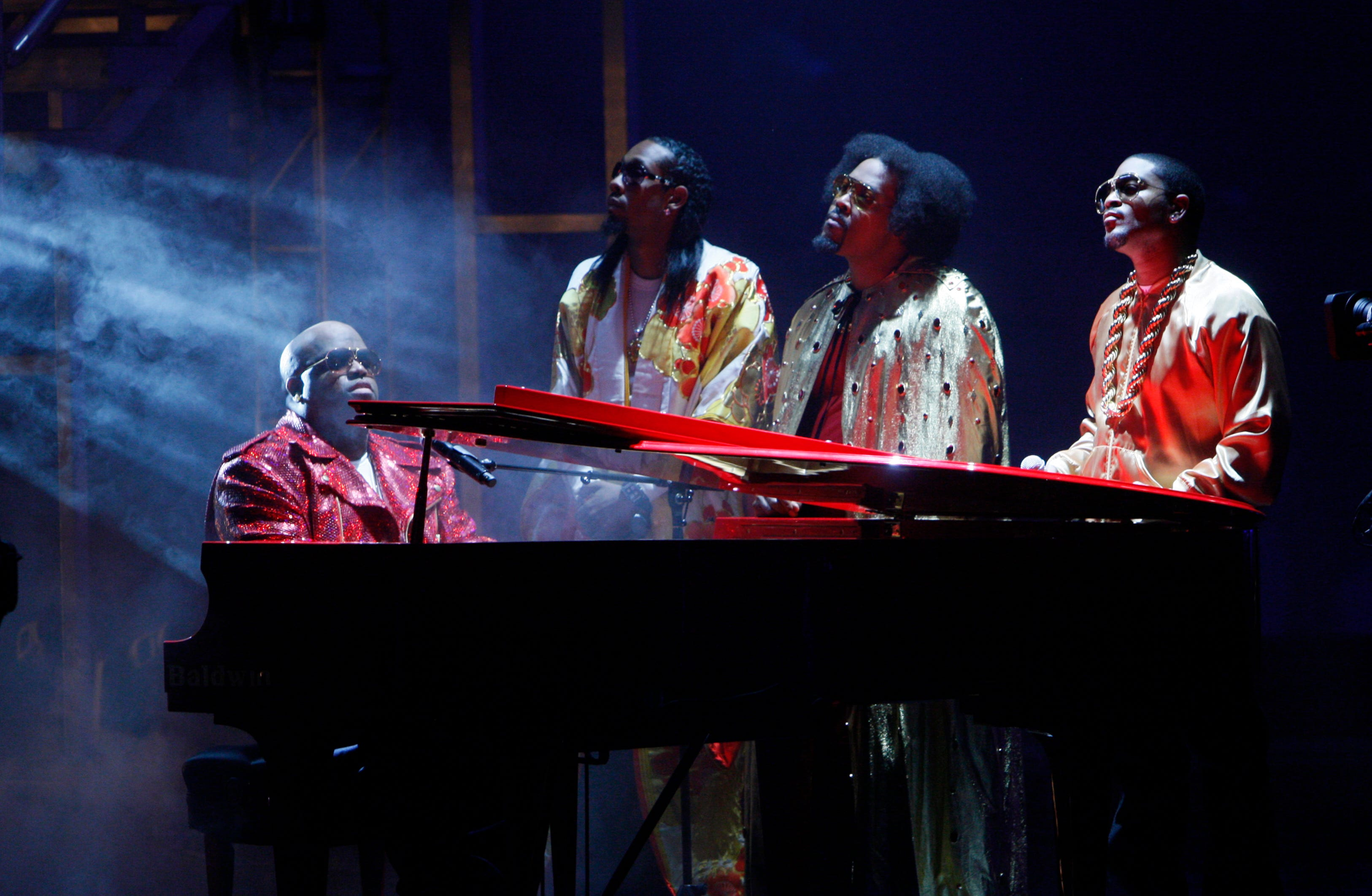 Goodie Mob performs during the taping of the BET Hip Hop Awards Saturday, Oct. 10, 2009, in Atlanta.
