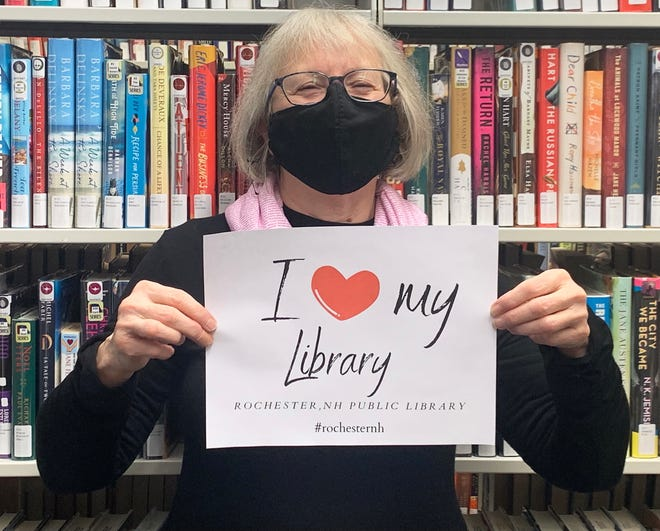 Pick up a Library Lovers Month sign from the Rochester Public Library and post a selfie on social media to celebrate Library Lovers Month.