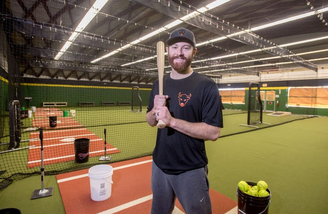 Former Pekin Community High School and Normal Cornbelters baseball player Justin Fletcher has renovated the former site of the iconic 14th Street Hardware Store, 1315 Derby St. in Pekin, into Fletcher's Hitting Center, an all-turf training facility for baseball and softball players.