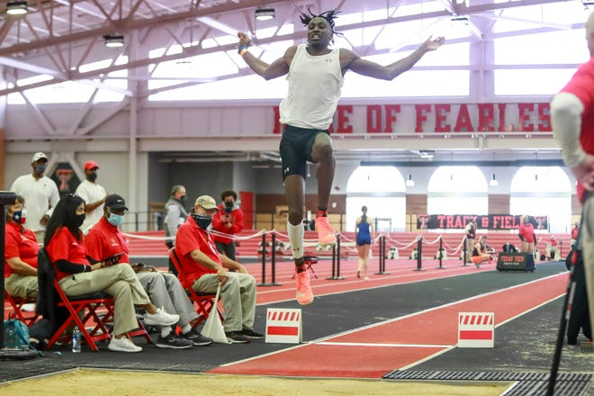 Justin Hall, a first-team all-American on Texas Tech's NCAA championship team two years ago, is one of 45 Tech athletes scheduled to compete in the four-day NCAA West Preliminaries that start Wednesday in College Station.