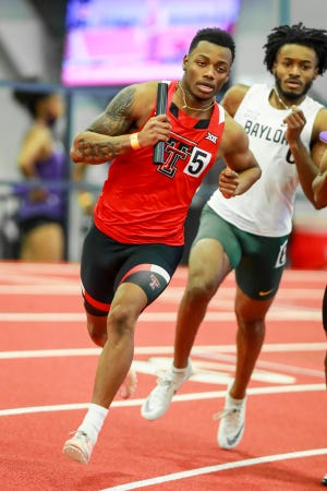 Texas Tech sprinter Courtney Lindsey will miss the Big 12 and NCAA championships with a hamstring injury he suffered Feb. 13 in the Tech Shootout. Lindsey ranks fourth in NCAA Division I this season in the 200 meters, sixth in the 60 meters and leads the Big 12 in both events. Tech hosts the Big 12 indoor championships Friday and Saturday.
