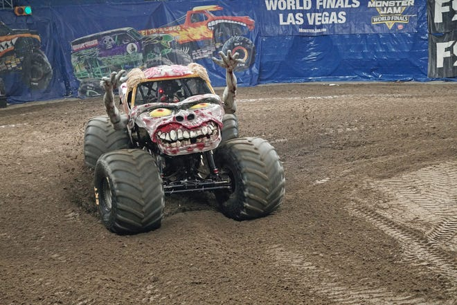 A monster truck show, such as 2018's Monster Jam, shown here in the Dunkin' Donuts Center, is expected to be one of the first shows scheduled this fall as the Dunk recovers from its pandemic closure.