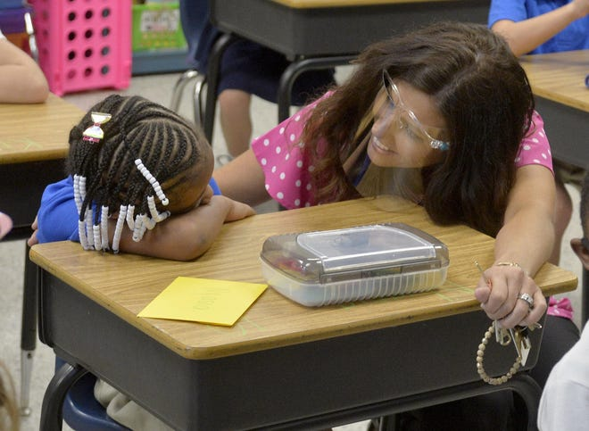 Effingham County public schools returned to in-person learning in August.