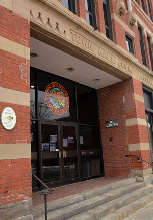 The Killingly Town Council this week trimmed 2021-22 budget plans to reach a proposed flat mill-rate increase. [John Shishmanian/ NorwichBulletin.com]